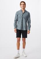 Cotton On - Brunswick shirt 3 - mineral blue