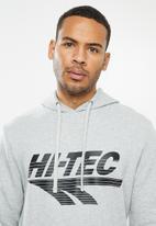 Hi-Tec - Big logo hoody - grey