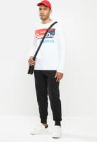 Superdry. - Collective jogger ub - black