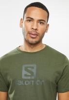 Salomon - Achieve short sleeve tee - olive