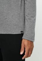 Salomon - Minimal long sleeve tee - charcoal