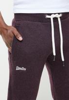 Superdry. - Ol classic jogger - burgundy