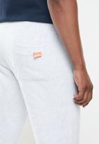 Superdry. - Orange label jogger br - grey