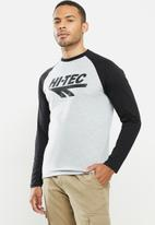 Hi-Tec - Retro long sleeve - grey & black