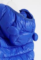 POP CANDY - Boys sleeveless bomber - blue