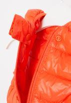 POP CANDY - Boys sleeveless bomber - orange