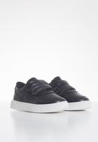 POP CANDY - Boys 2 strap sneaker - black