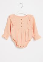 POP CANDY - Baby girls styled babygrow - pink