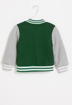 POP CANDY - Boys cool baseball jacket - green