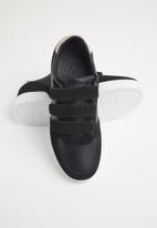 Superdry. - Edit velcro trainer - black