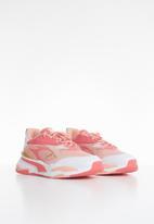 PUMA - Rs-fast fireworks jr sneakers - sun kissed coral/apricot blush