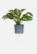 H&S - Planter on stand - dark grey