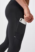 Cotton On - Active tech legging - charcoal