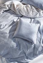 Linen House - Lucca duvet cover set - blue