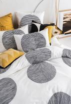 Linen House - Pani duvet cover set - black