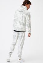 Cotton On - Active tech zip thru hood - steel grey