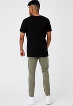 Factorie - Raw hem skinny leg jean - khaki