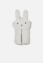 Cotton On - Baby snuggle towel - cloud marle bunny