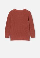 Cotton On - Blair knit crew - chutney