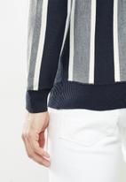 Brave Soul - Lyons knitwear - multi