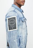 S.P.C.C. - Supulveda jacket - blue