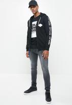 Replay - Replay zip thru hoodie-black