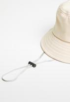 POP CANDY - Emoji bucket hat - beige
