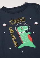 POP CANDY - Dino long sleeve tee - navy