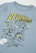 POP CANDY - Boys beyond awesome tee - blue