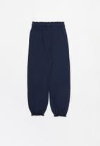 POP CANDY - Younger girls easy jersey pants - navy