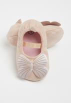 POP CANDY - Baby girls butterfly pump - pink