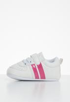 POP CANDY - Baby girls sneakers - white & pink