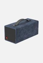 AV LOVE - Deep edge portable speaker - deep blue