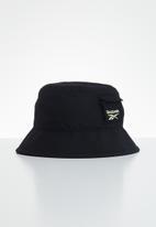 Reebok - Cl  s retreat bucket hat - black