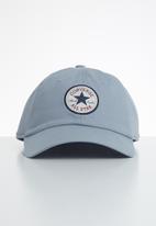 Converse - Chuck Taylor patch baseball hat - blue