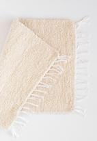 Barrydale Hand Weavers - Thick weave bath mat - natural