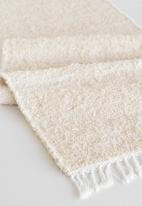 Barrydale Hand Weavers - Thick weave table runner - natural