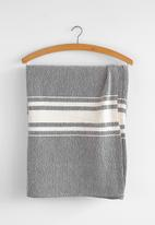 Barrydale Hand Weavers - Contemporary table cloth - charcoal