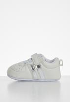 POP CANDY - Baby girls sneakers - white & silver