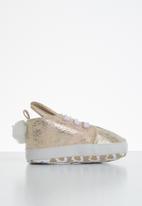 POP CANDY - Baby girls metallic sneaker - rose gold