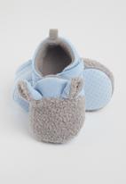 POP CANDY - Boys bear slipper - blue