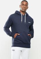 Superdry. - Ol classic hoodie - navy