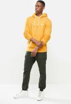 Superdry. - Ol classic hoodie - mustard