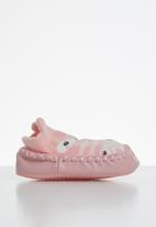 POP CANDY - Baby girls printed slip on - pink