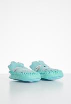 POP CANDY - Baby girls printed slip on - blue