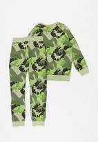 POP CANDY - Boys dino camo top & pants set - multi