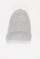 POP CANDY - Knitted beanie - grey mel
