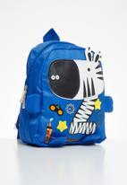 POP CANDY - Boys zebra backpack - blue