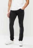 Replay - Replay skinny hyperflex jeans - black