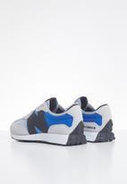 New Balance  - Kids 327 - grey & blue